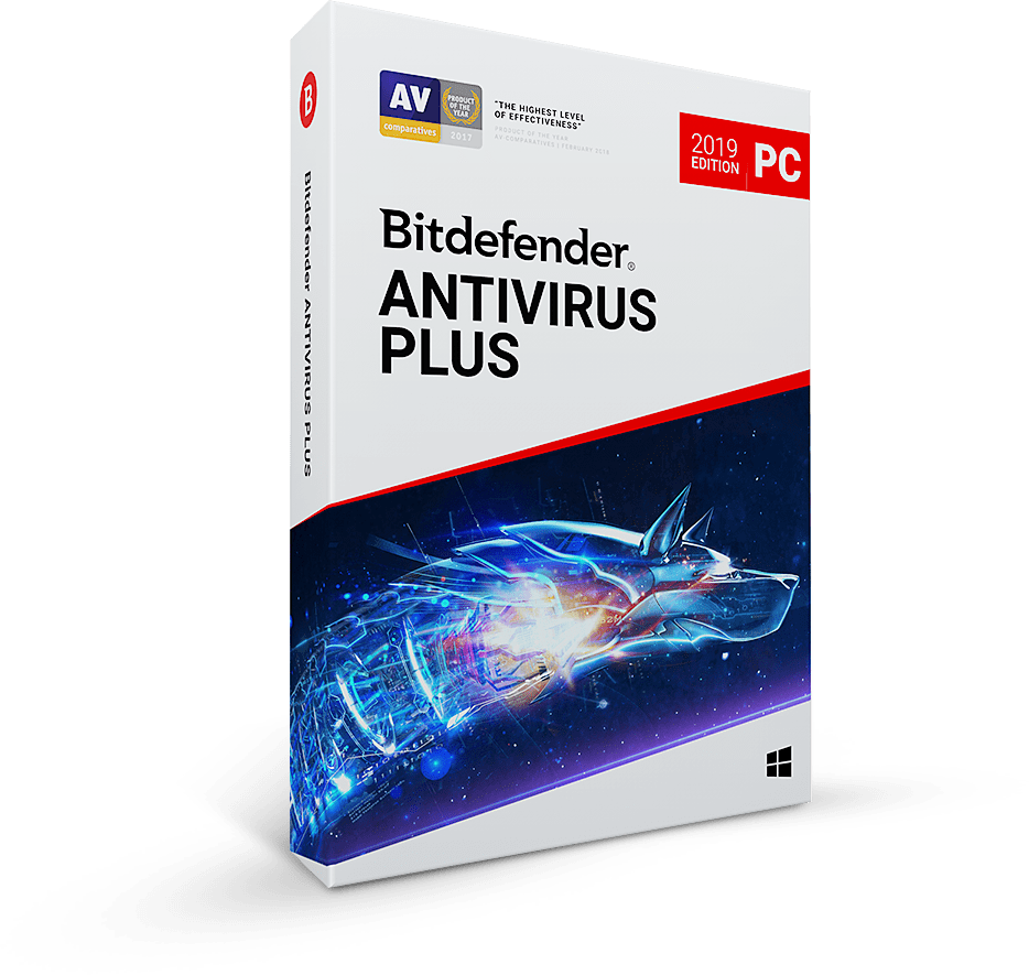 Bitdefender Antivirus Plus 2020 - kontynuacja na 1 rok / 3 PC