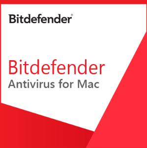Bitdefender Antivirus for Mac - 1 rok / 1 MAC