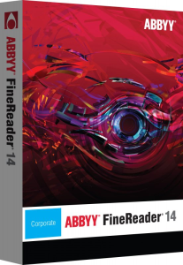 ABBYY Finereader 14 Corporate (1 PC - 1 rok)
