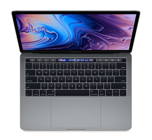 MacBook Pro 13 - Touch Bar, 2.4GHz quad-core 8th i5/16GB/256GB SSD/Iris Plus Graphics 655 - Space Grey MV962ZE/A/R1