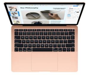 MacBook Air 13: 1.6GHz dual-8th Intel Core i5/8GB/128GB - Gold