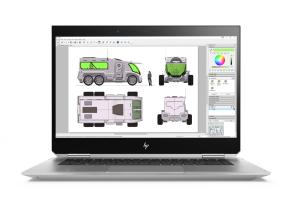 HP ZBook Studio X360 G5 15,6''UHD/i7-8750H/16GB/512GB SSD/Quadro P1000/W10P/FgrPr