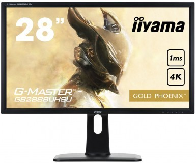 Monitor 28 GB2888UHSU-B1 Gold Phoenix 4K DP/HAS/SPEAKERS/USB