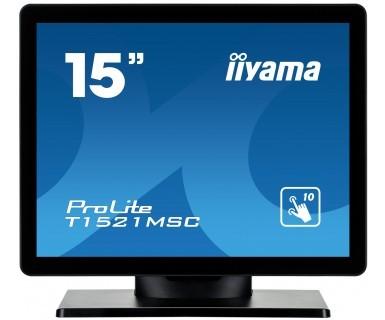 Monitor 15 T1521MSC-B1 POJEMNOŚCIOWY 10PKT.,TN,7H