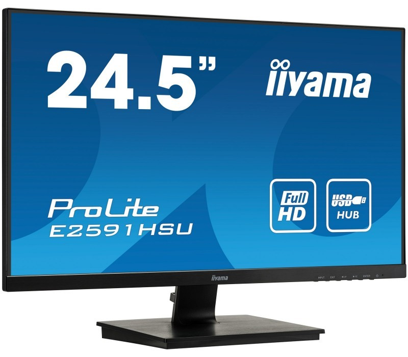 Monitor 25 cali E2591HSU-B1 1Ms,USB,HDMI,DP,75Hz.