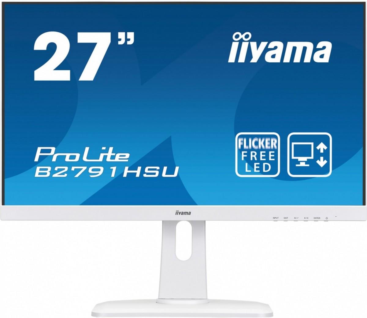 Monitor 27 B2791HSU-W1 DP,HDMI,USB,PIVOT,BIALY,1ms,2x2W.