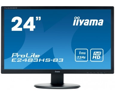 Monitor 24 E2483HS-B3 HDMI,DP,TN,FHD,2x1W,1ms
