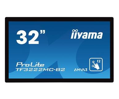 Monitor 32 TF3222MC-B2 pojemnościowy 12pkt, AMVA, VGA, DVI