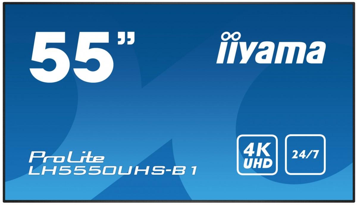 Monitor 55'' LH5550UHS-B1 24/7,4K,LAN,AMVA3,DAISY
