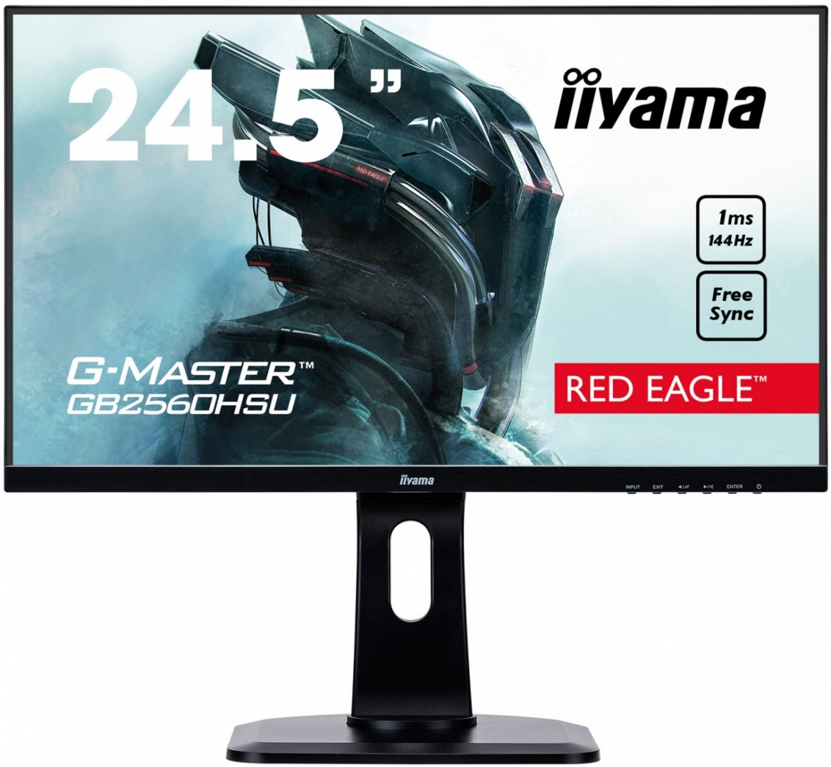 Monitor 24.5 GB2560HSU-B1 1MS,144Hz,HDMI,DP,USB,PIVOT,FLICKER FREE