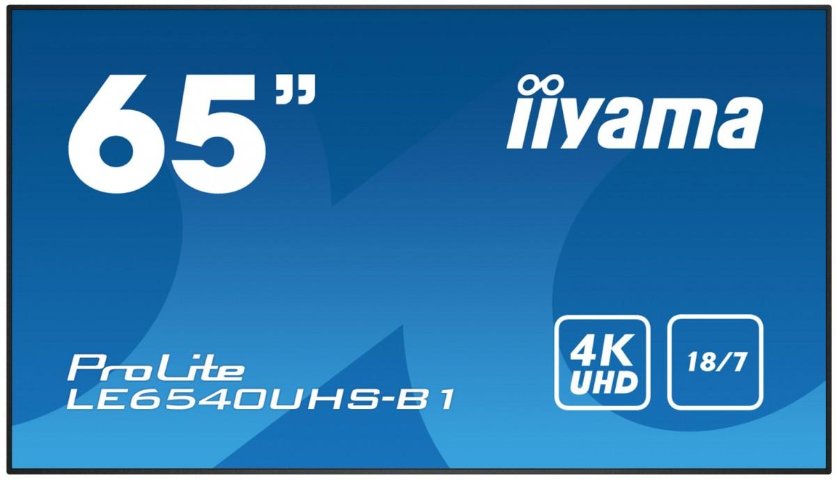 Monitor 65 LE6540UHS-B1 4K,18/7,OPS,AMVA3,LAN,