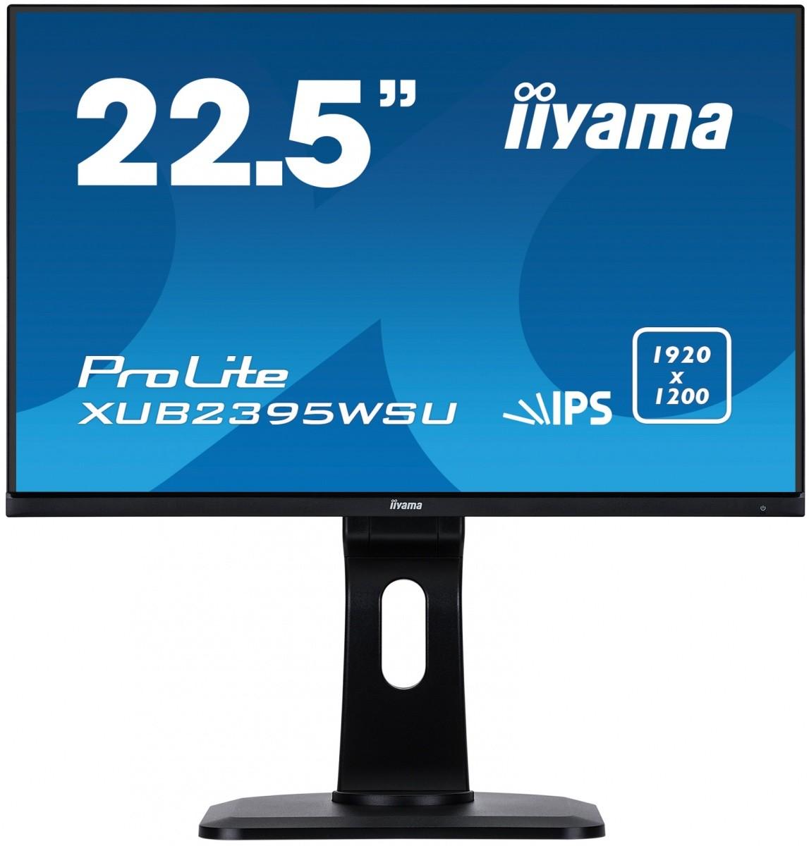 Monitor 22.5 XUB2395WSU-B1 IPS,PIVOT,1920x1200,DP,HDMI