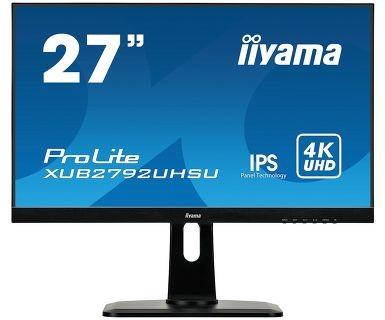 Monitor 27 cali XUB2792UHSU-B1 4K,IPS,USB,DP,HDMI,PIP