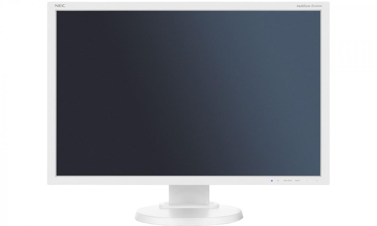 Monitor 24 Multisync EA245WMi IPS DP DVI Biały