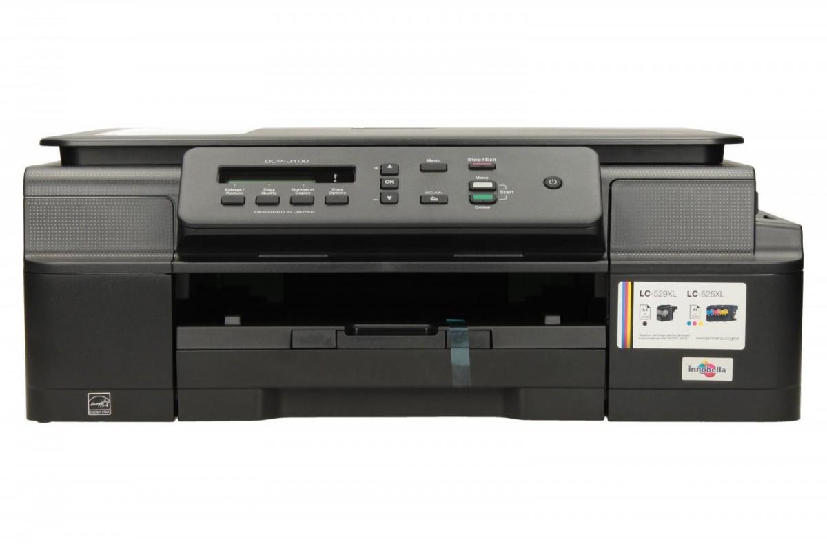 AiO DCP-J100   A4 kolor USB/27ppm/100ark/LCD