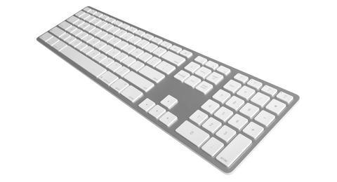 Klawiatura aluminiowa Mac bluetooth Silver