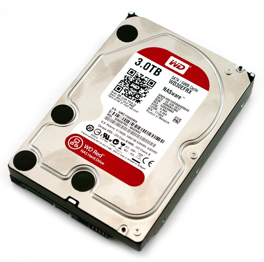 Red 3TB 3,5'' 64MB SATAIII/5400rpm
