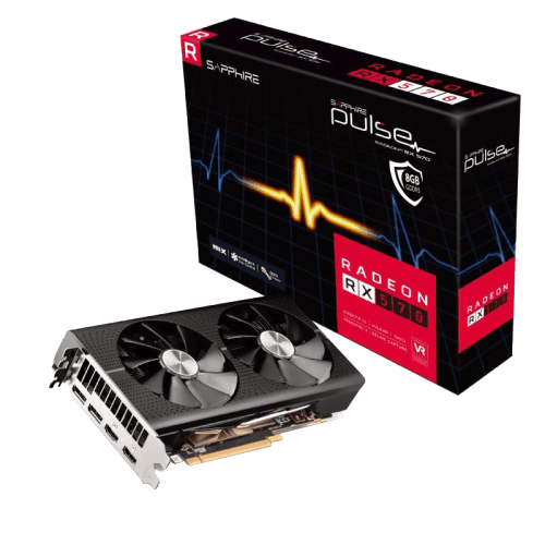 Karta graficzna Radeon RX 570 PULSE 8GB GDDR5 256BIT 2HDMI/2DP OC