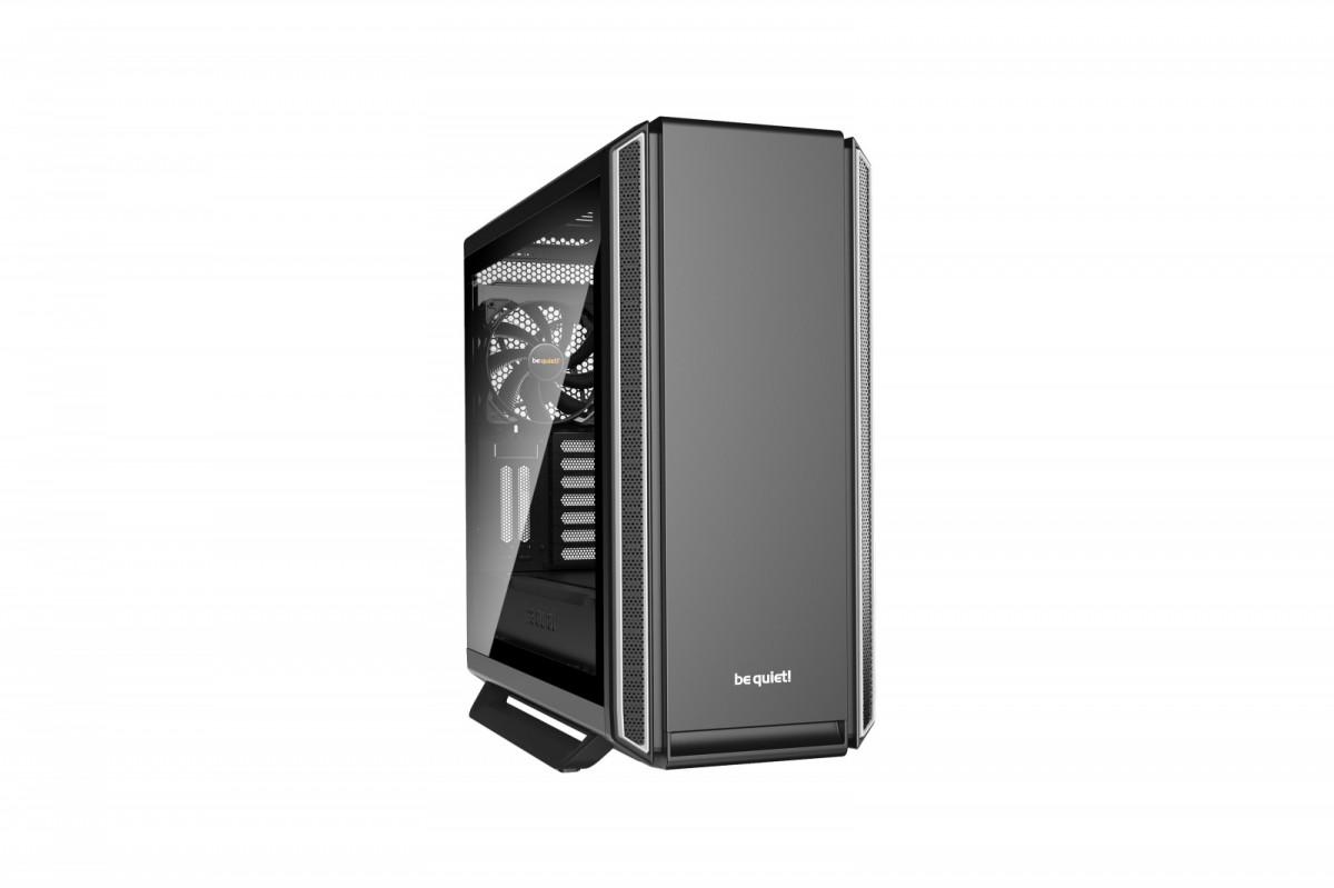 Obudowa komputerowa SILENT BASE 801 Window Silver