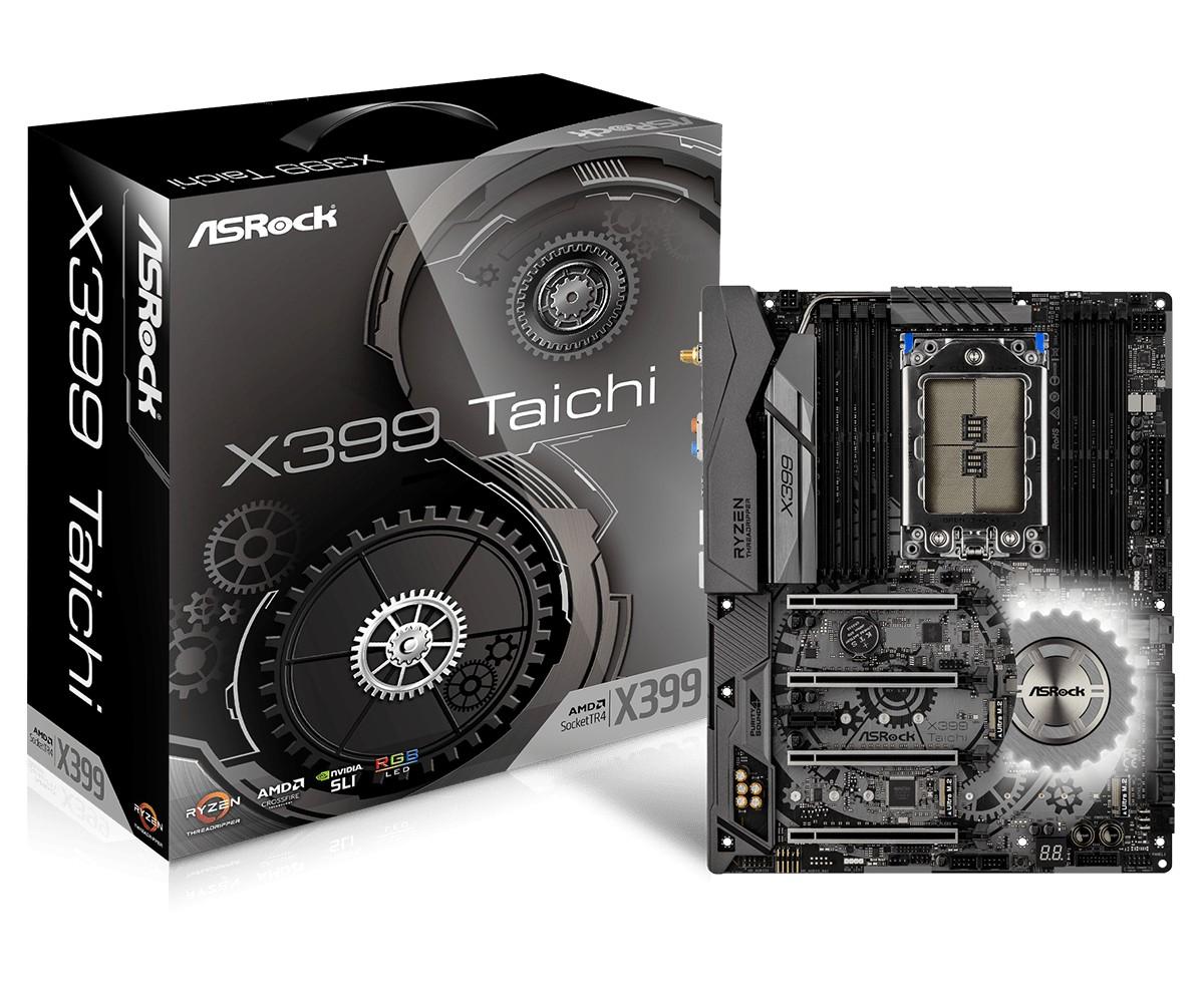 Płyta główna X399 Taichi TR4 8DDR4 SATA/USB3.1 ATX