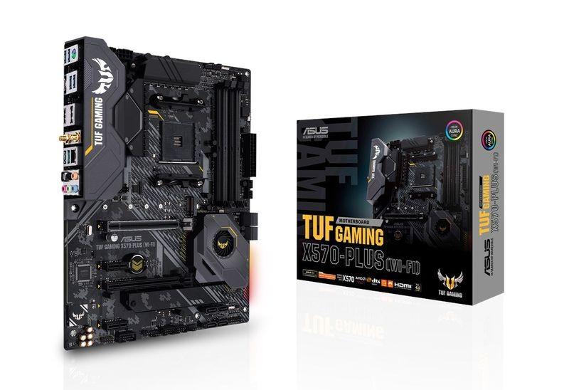 Płyta główna TUF Gaming X570-PLUS (WI-FI)AM4 4DDR4 HDMI/DP