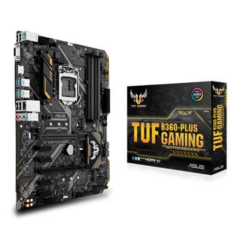 Płyta główna TUF B360-PLUS GAMING s.1151 4DDR4 HDMI/VGA M.2 ATX