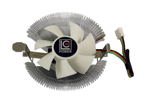 WENTYLATOR CPU  LC-CC-85 MULTI-SOCKET 70W 22RPM ALUMINIUMPWM, ŁOŻYSKA HYDRAULICZNE