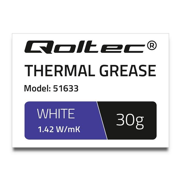 Pasta termoprzewodząca   1.42W/m-K   30g   biała