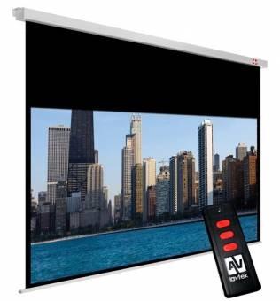 Ekran elektryczny Video Electric 270, 4:3, 260x195cm, powierzchnia biała, matowa