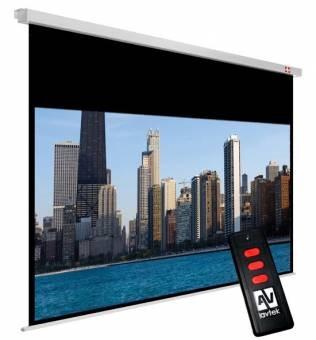 Ekran elektryczny Video Electric 200, 4:3, 195 x 146.2 cm, powierzchnia biała, matowa