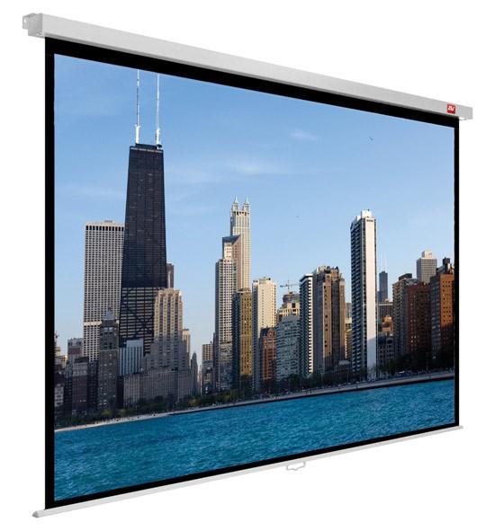 Ekran ścienny ręczny Video PRO 240, 4:3, 230x172.5cm, powierzchnia biała, matowa