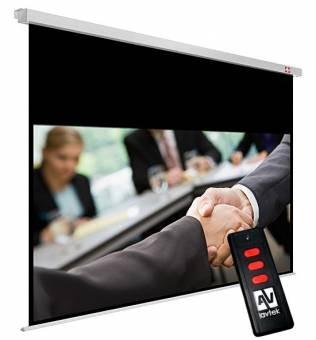 Ekran elektryczny Business Electric 200, 16:10, 195 x121.8 cm, powierzchnia biała, matowa