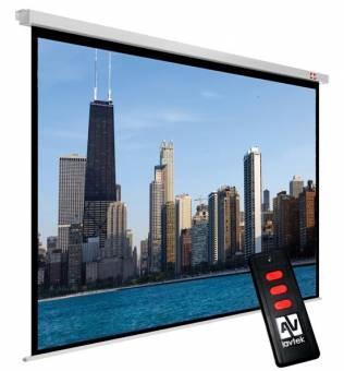 Ekran elektryczny Video Electric 300P/4:3/300x227,5cm