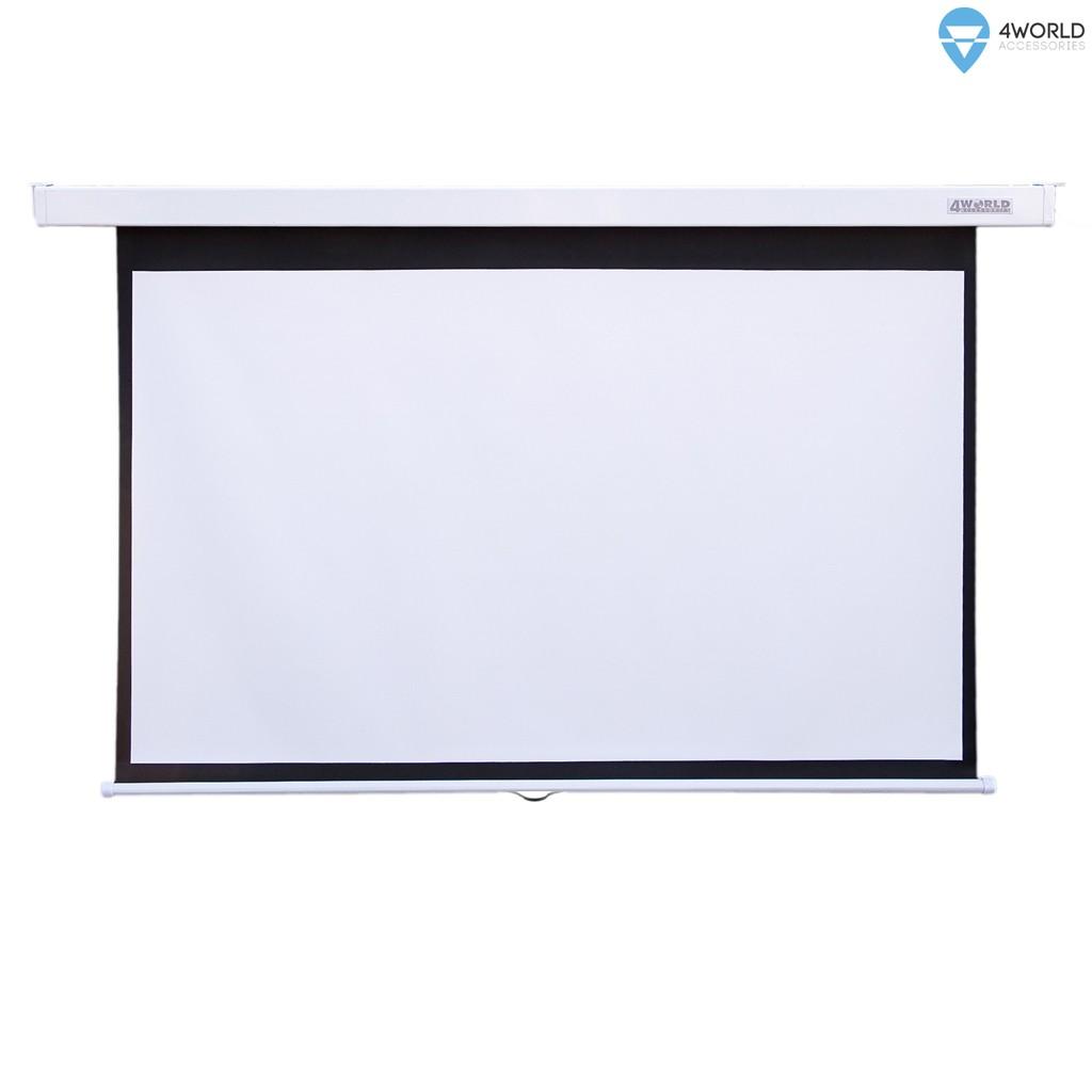 """Ekran projekcyjny ścienny 221x124 (100"""",16:9) Biały matowy"""