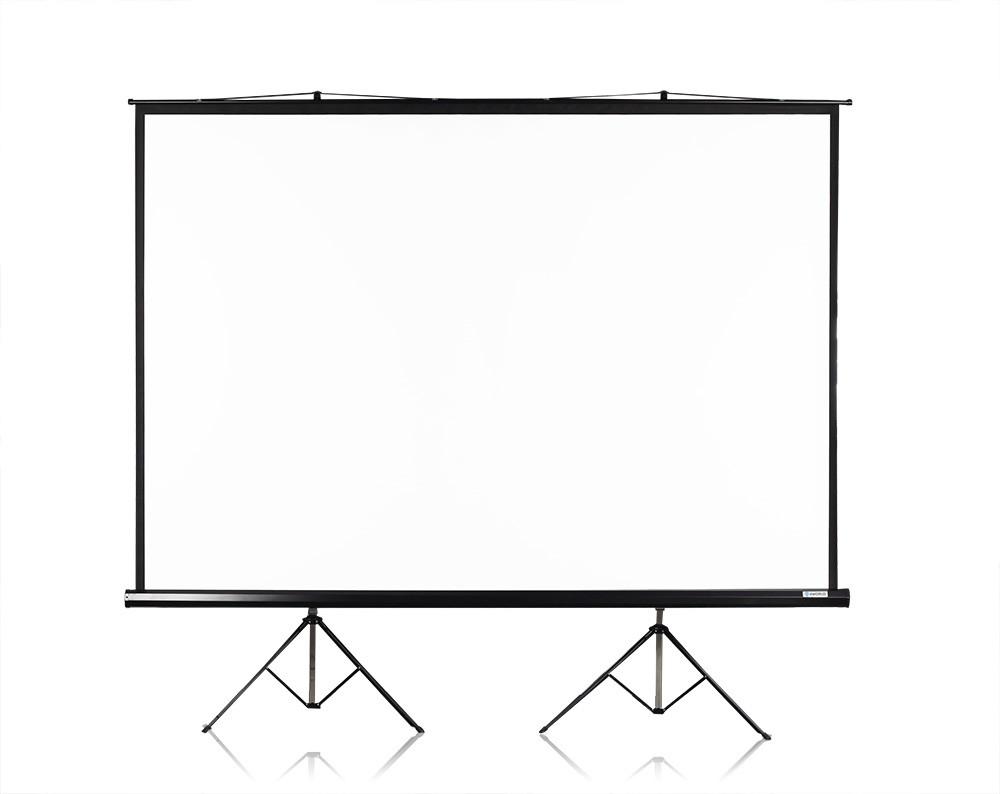 Ekran projekcyjny na statywie 300x225CM 150cali (4:3) biały matt