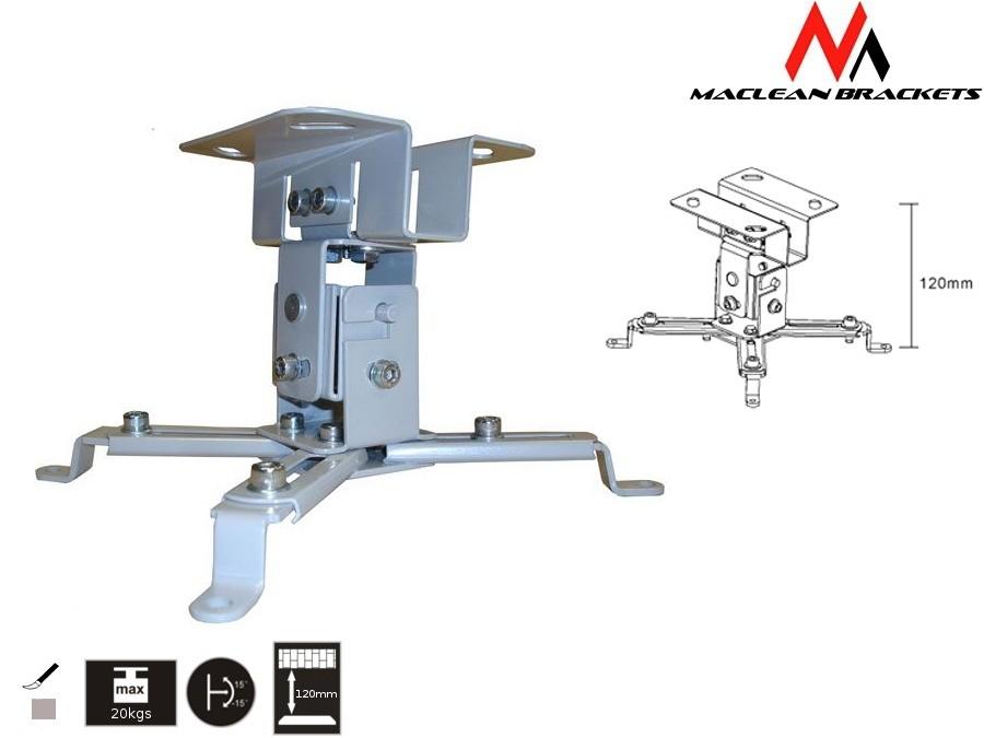 MC-582 sufitowy uchwyt do projektora 12cm 20kg
