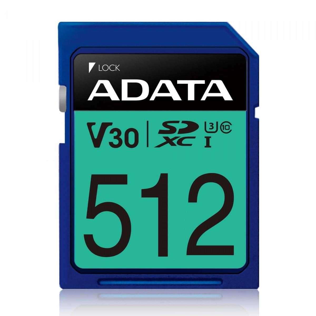 Karta pamięci SDXC PremierPro 512GB UHS-I U3 V30 100/80 MB/s
