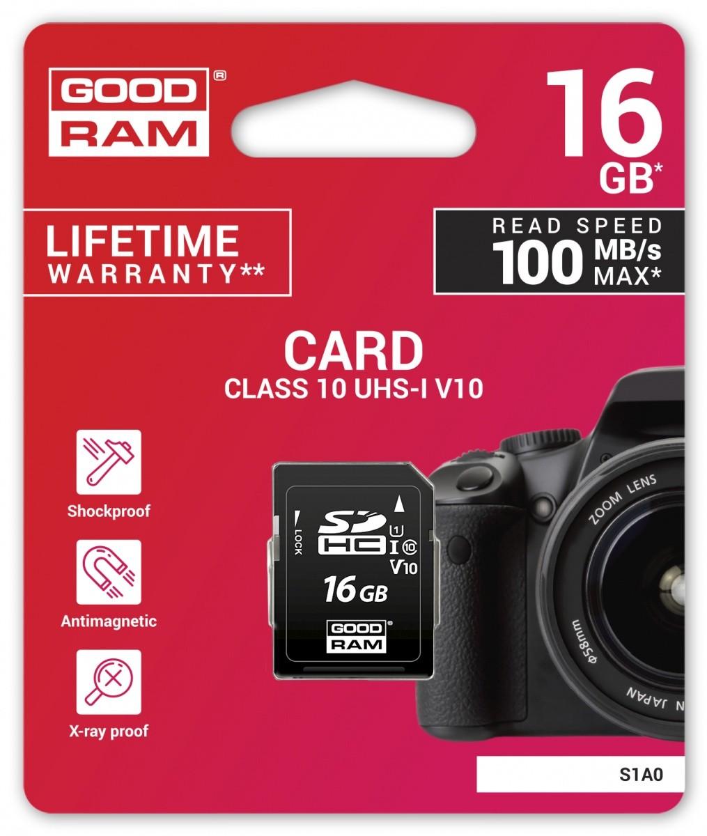 Karta SD 16GB Class 10 UHS I