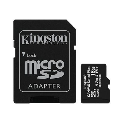 Karta pamięci microSD 16GB Canvas Select Plus 100MB/s Adapter