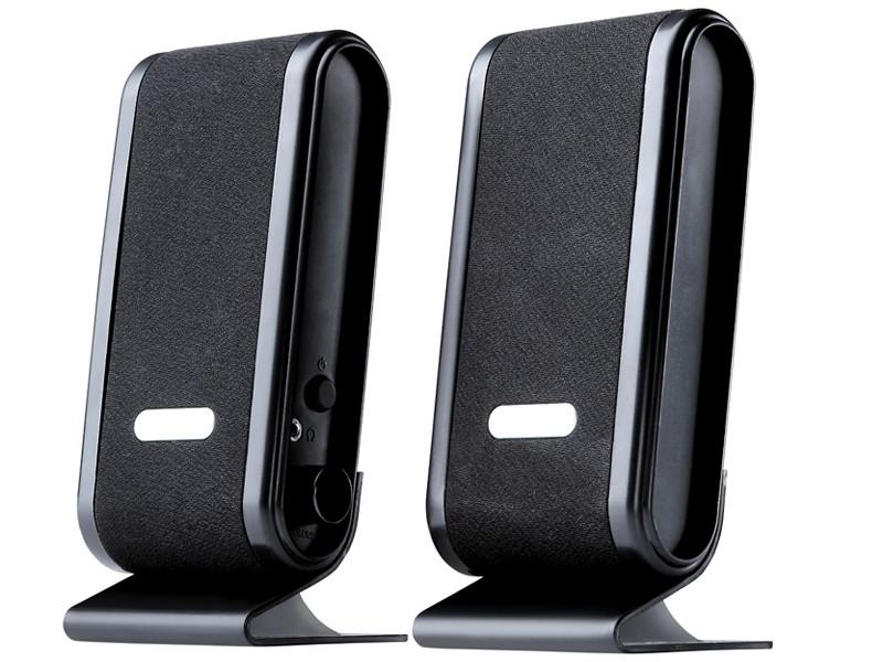 Głoniki 2+0 Quanto Black USB
