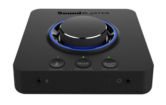Karta dźwiękowa Sound Blaster X3 zewnętrzna