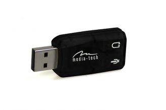 VIRTU 5.1 USB - Karta dźwiękowa USB oferująca wirtualny dźwięk 5.1 MT5101