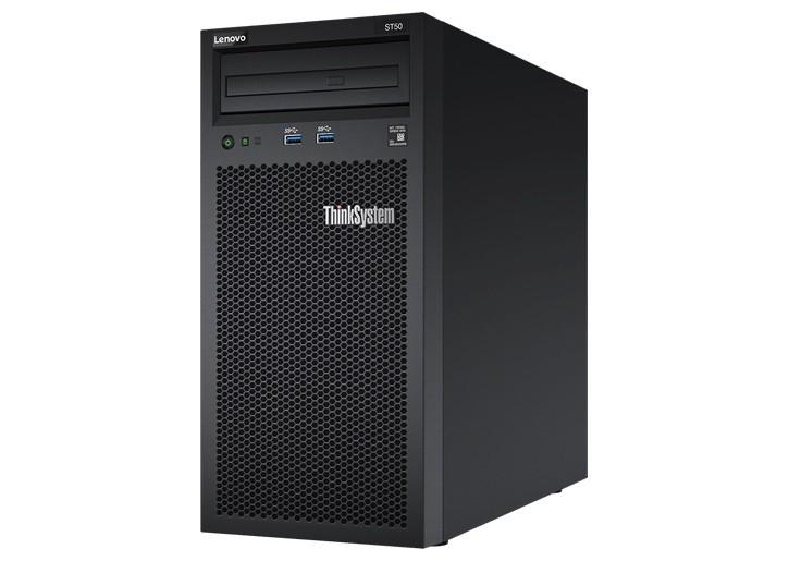 Serwer ThinkSystem ST50 E-2124G 8GB 7Y48A006EA