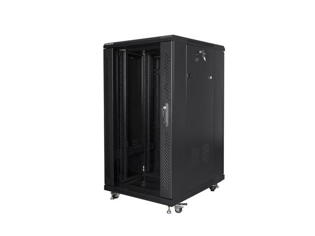 Szafa stojąca 19cali 22U 600X800mm czarna