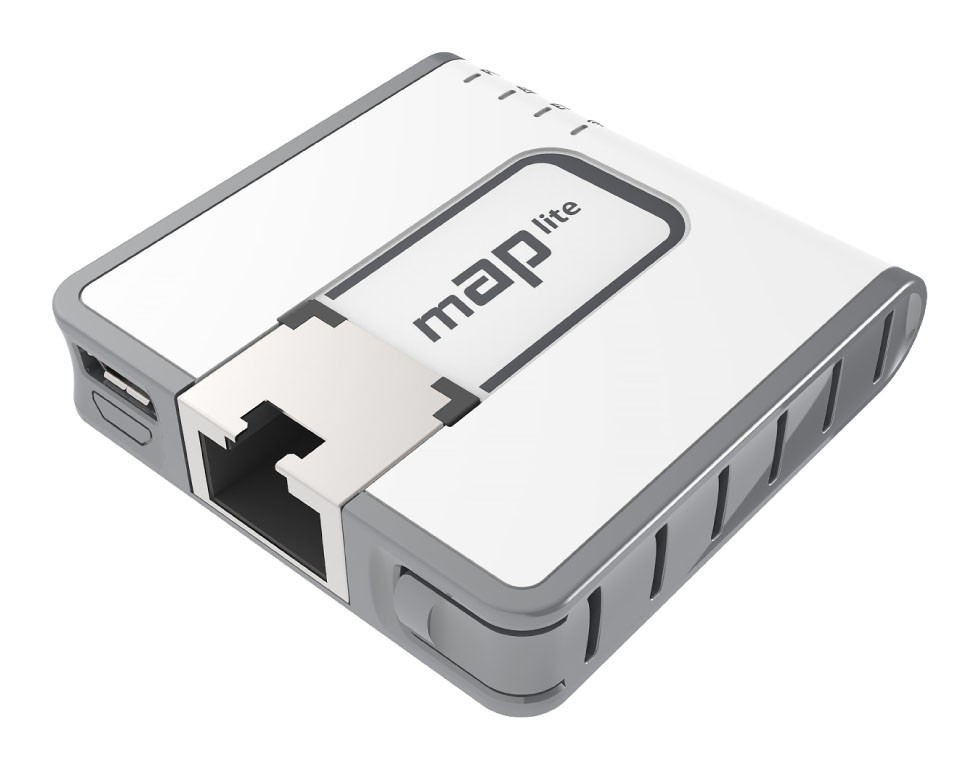 Punkt dostępu MAP LITE RBMAPL-2ND 650MHZ, 64MB, 1XFE, 2X2MIMO, 2,4GHZ, L4