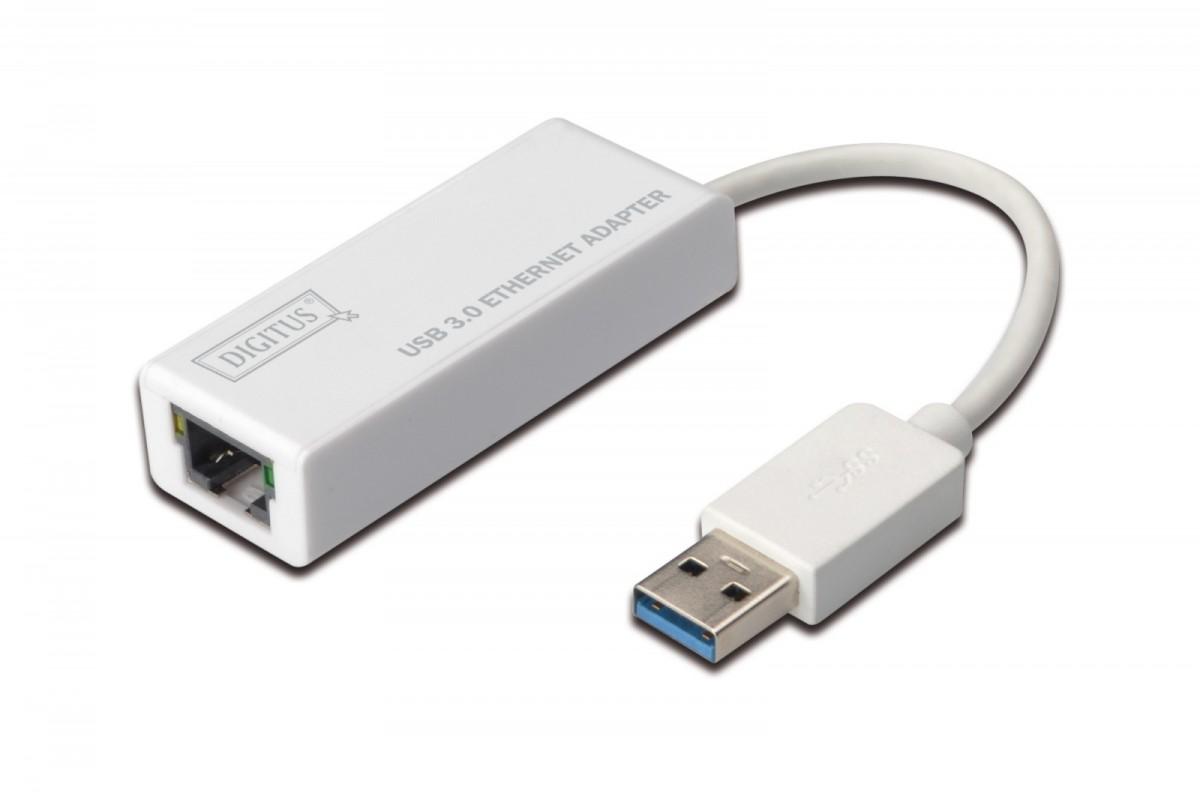 Karta sieciowa przewodowa USB 3.0 do Gigabit Ethernet 10/100/1000Mbps