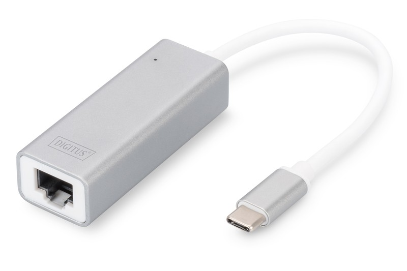 Karta sieciowa przewodowa USB 3.0 Typ C do Gigabit Ethernet 10/100/1000Mbps