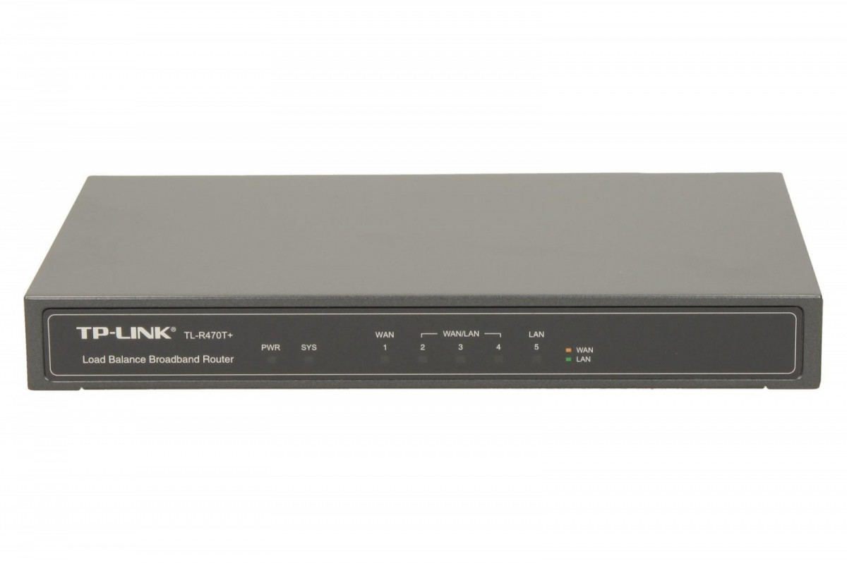 R470T+ router Cable/xDSL 1xWAN 1xLAN 3xWAN/LAN DMZ Multi WAN