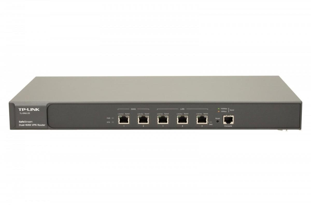 ER6120 router Cabel/xDSL 2xWAN 2xLAN 1xDMZ 1xRS-232 VPN