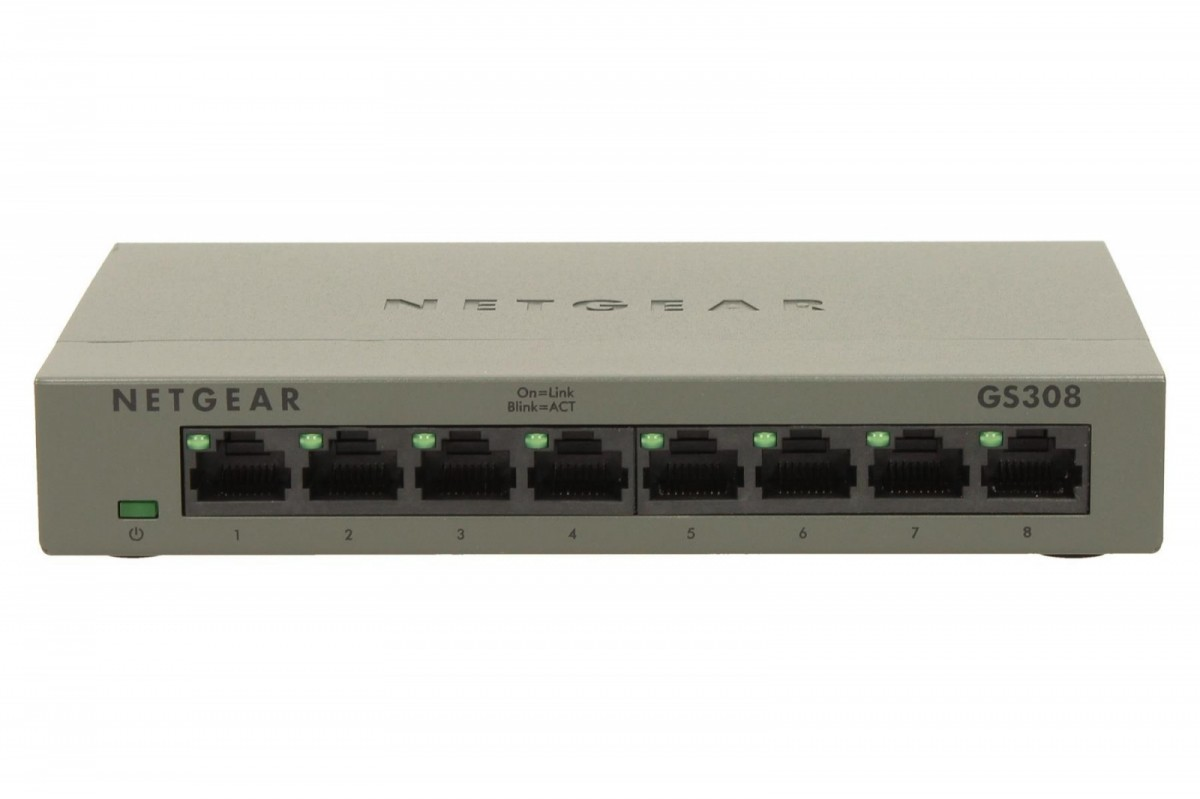 Switch Unmanaged 8xGE - GS308